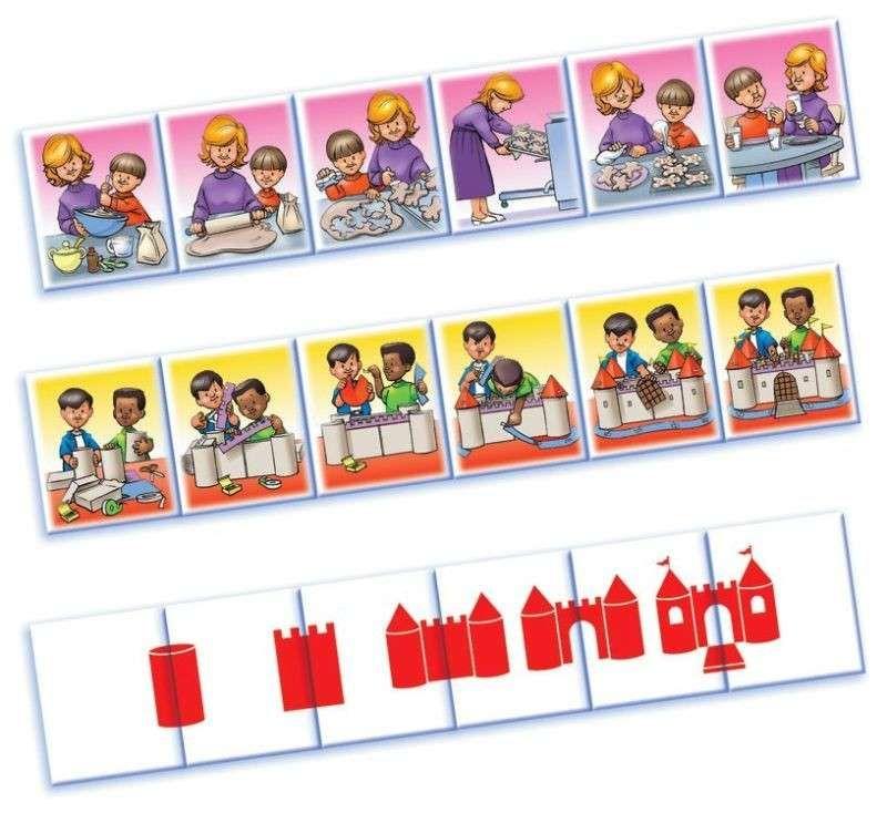 Riordino di immagini in sequenza - Sequenze con i bambini