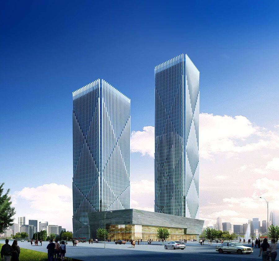 Wanda East Port Tower Dalian Masters Architectural Office