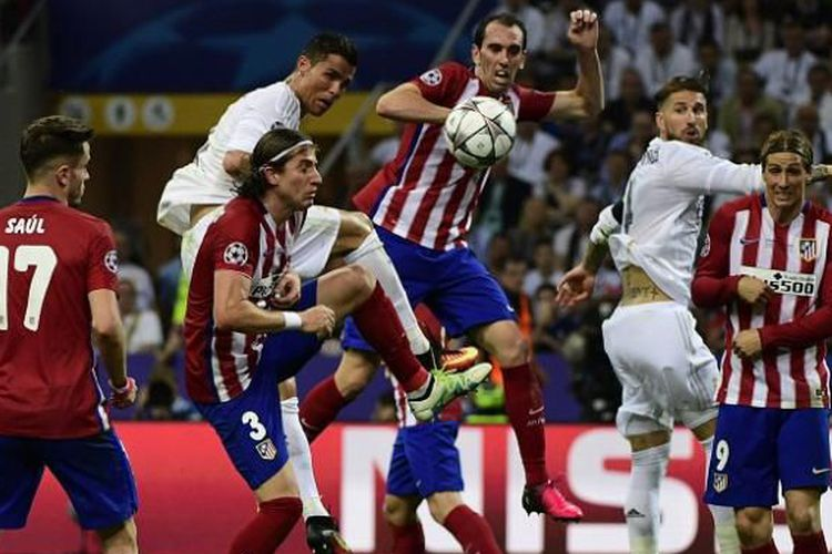 Liga Champion Semi Final: Real Madrid vs Atletico Madrid