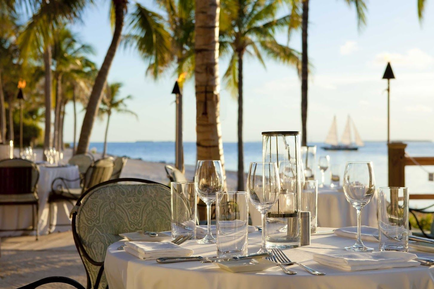 Laudes Restaurant In Key West Fl Best Incredible Location Right On The Beach