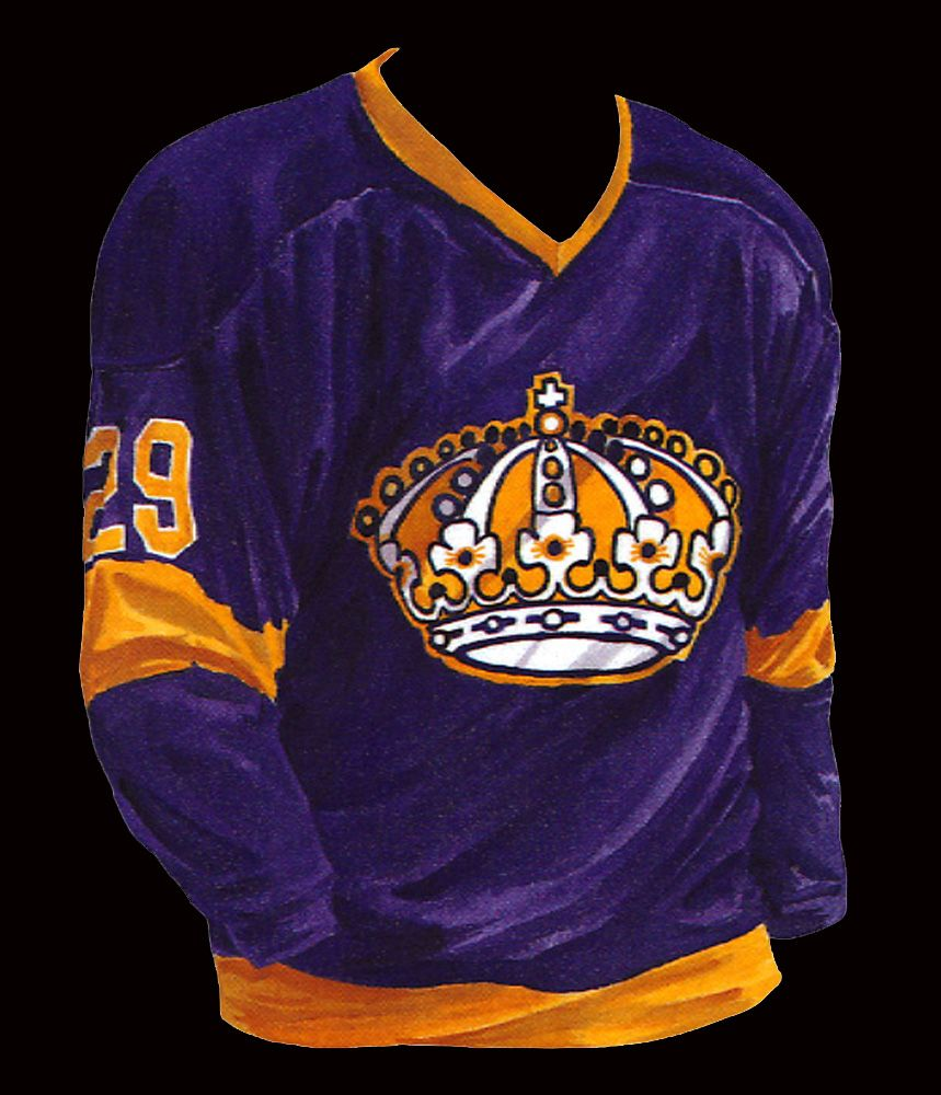 fbeac1e4978 Kings Uniform History - Los Angeles Kings - Kings  History Hockey Logos
