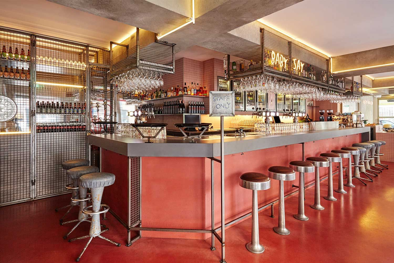 Bar Basquiat In Amsterdam By Studio Modijefsky Yellowtrace Bar Restaurant Hotels