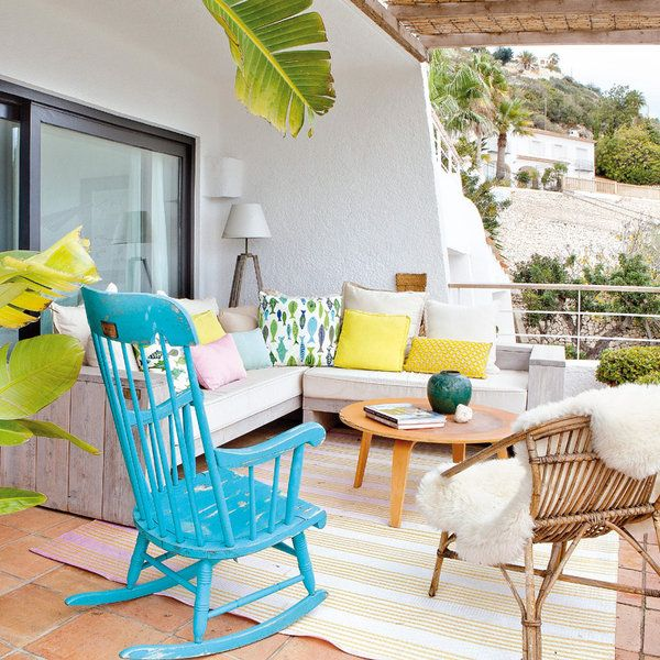 Virlova Interiorismo: [Decotips] Consigue un look de estilo mediterráneo en la terraza