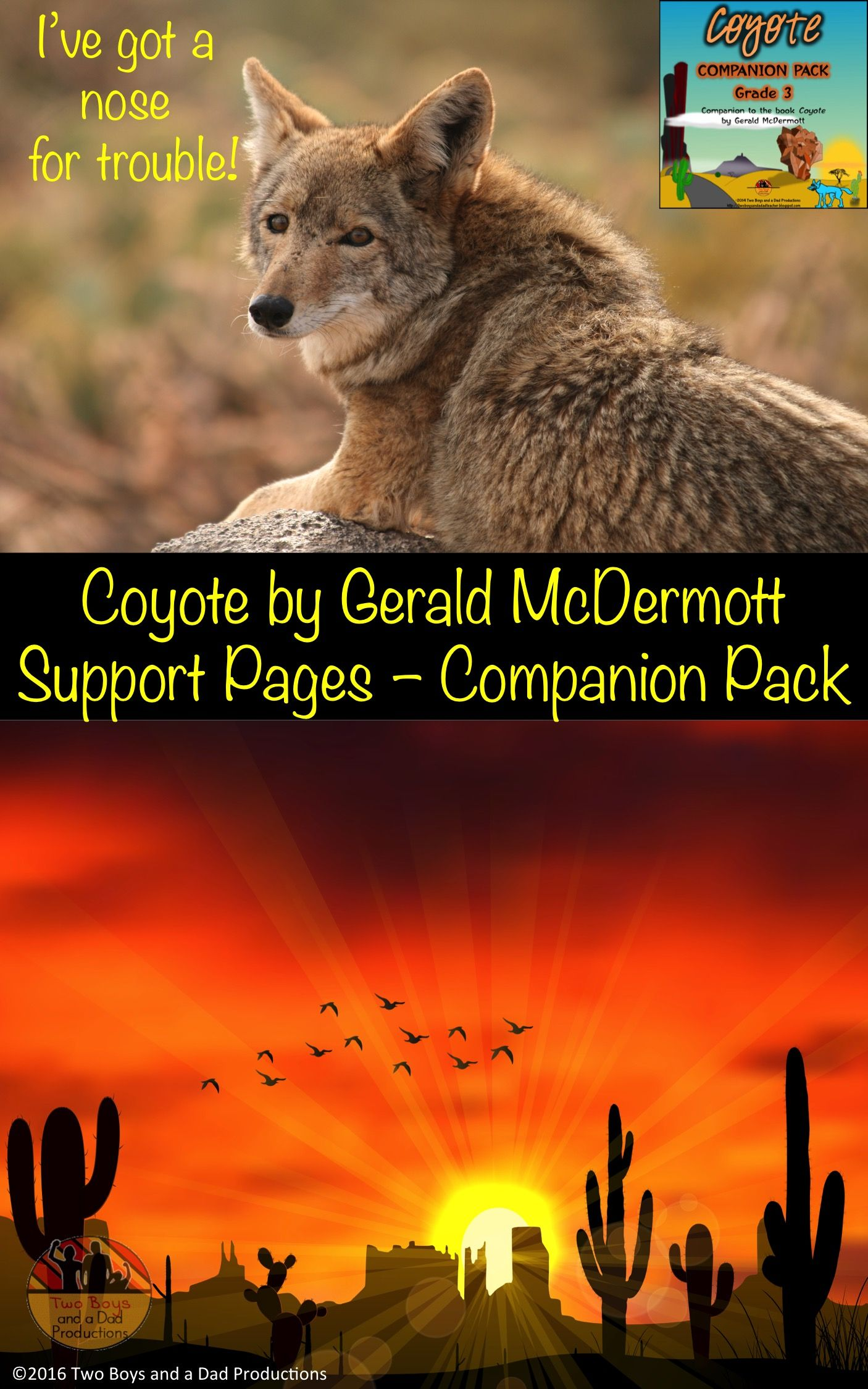 Coyote Trickster Tale Literature Standards Support
