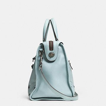 Coach :: RHYDER 33 SATCHEL IN PEBBLE LEATHER