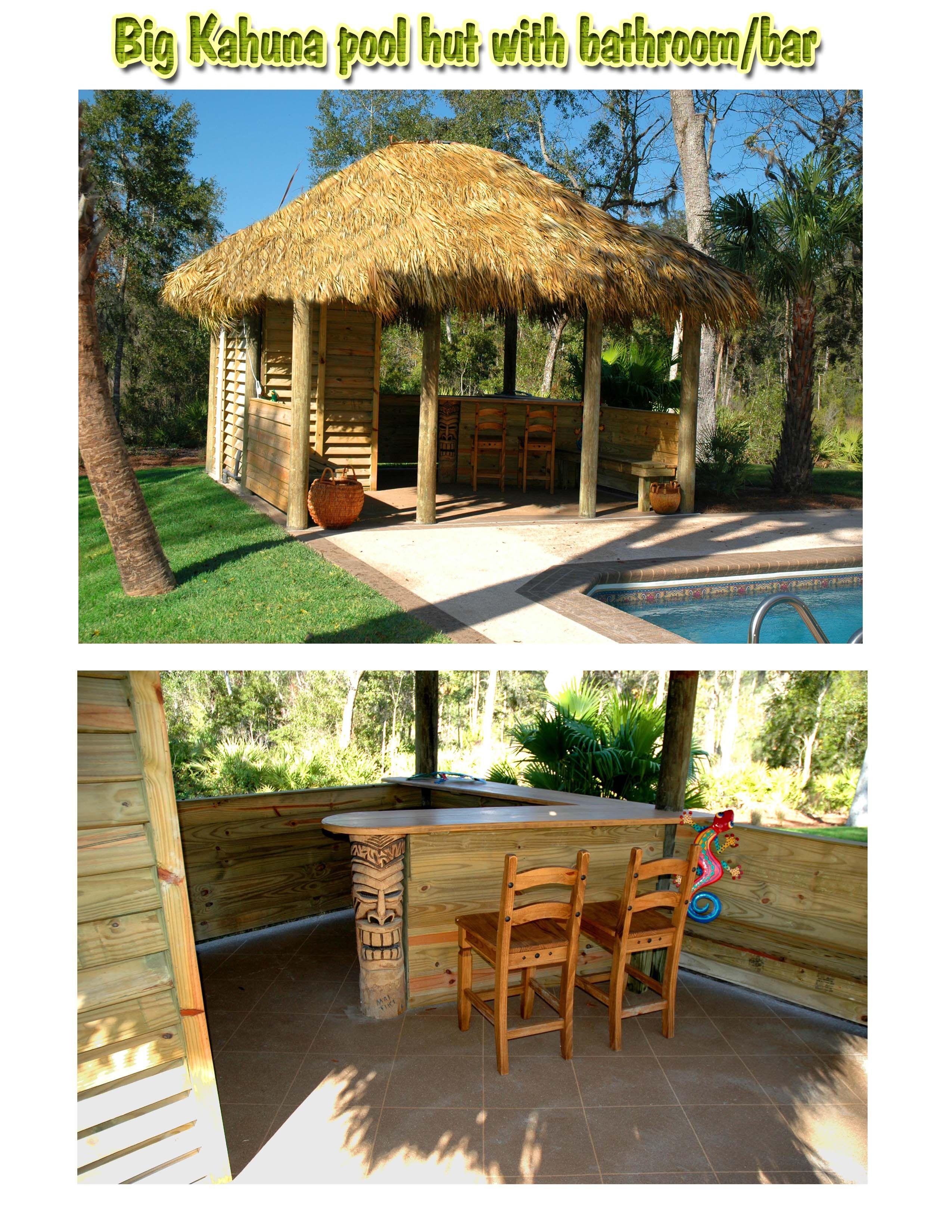 I really need a Tiki hut | Tiki hut, Backyard patio ...