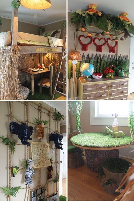 Boys Jungle Bedroom