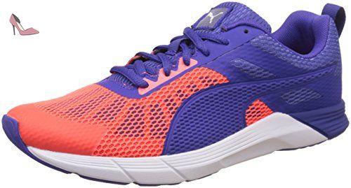 Puma Ignite V2, Damen Laufschuhe Laufschuhe, Blau(Royal Blue/Red Blast), 43 EU