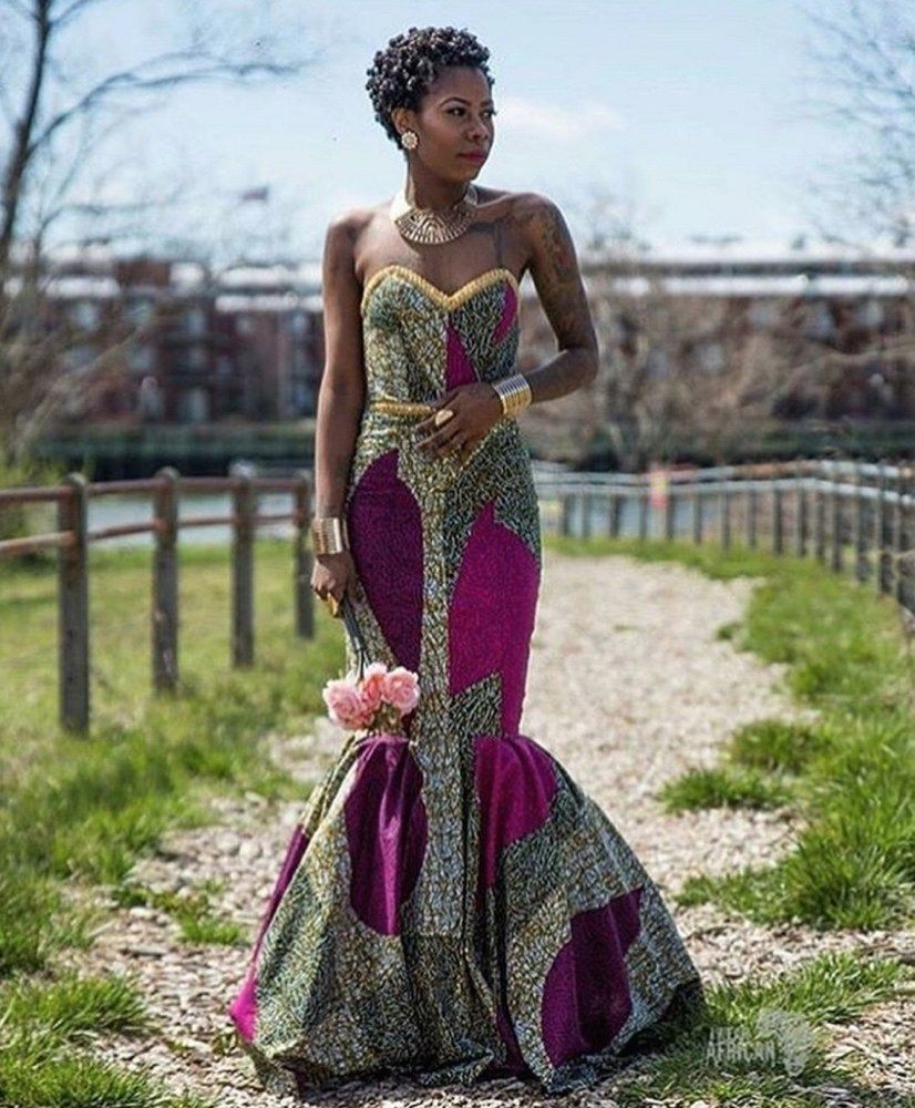 African Print Prom Dresses To Spice Up Your Special Day African Dresses For Women African Prom Dresses African Fashion [ 1000 x 826 Pixel ]