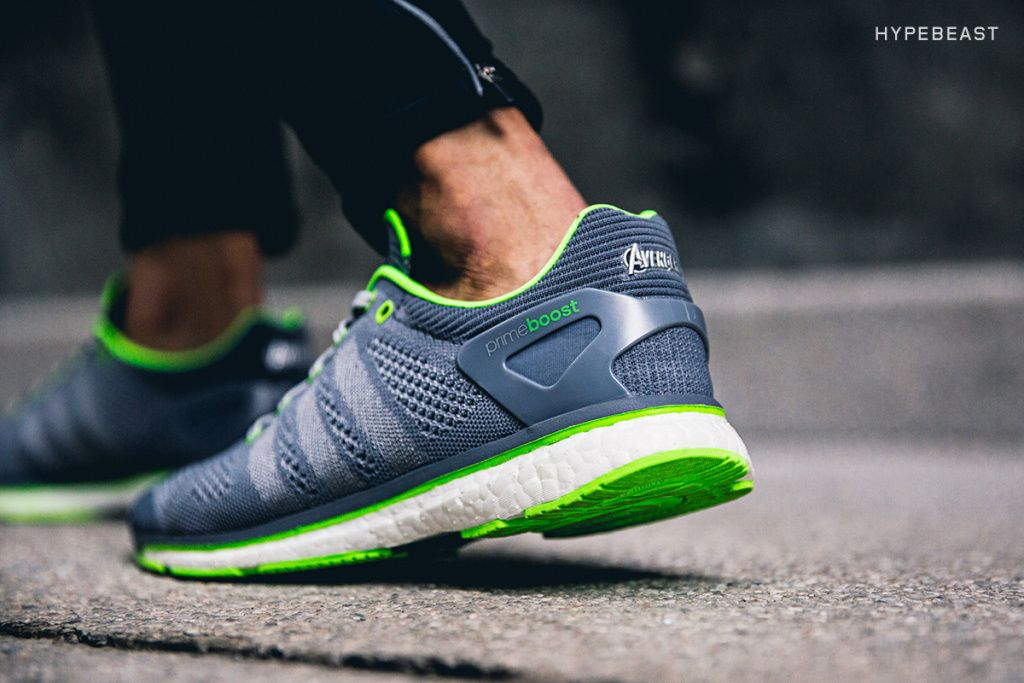 ee0247e8dd4304 a closer look at the avengers age of ultron x adidas adizero prime boost