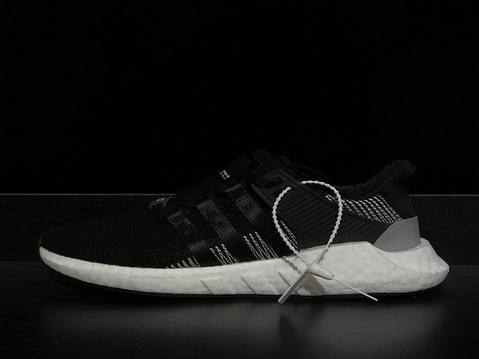 Adidas EQT Support 9317 By9509 Black Halfs Shoe