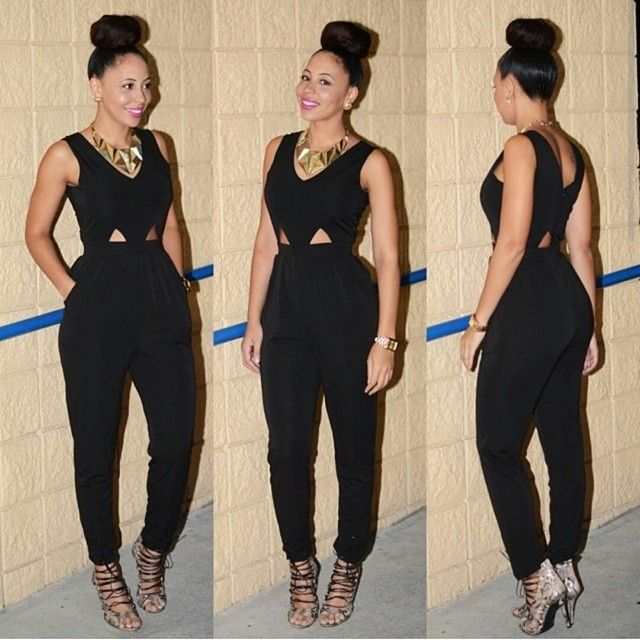 hot miami styles wide leg jumpsuit | Casual Wear | Pinterest ...