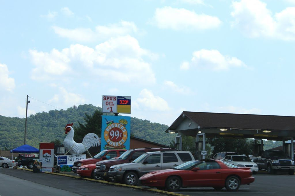 Knox DriveIn located in Barbourville Kentucky  gone but not