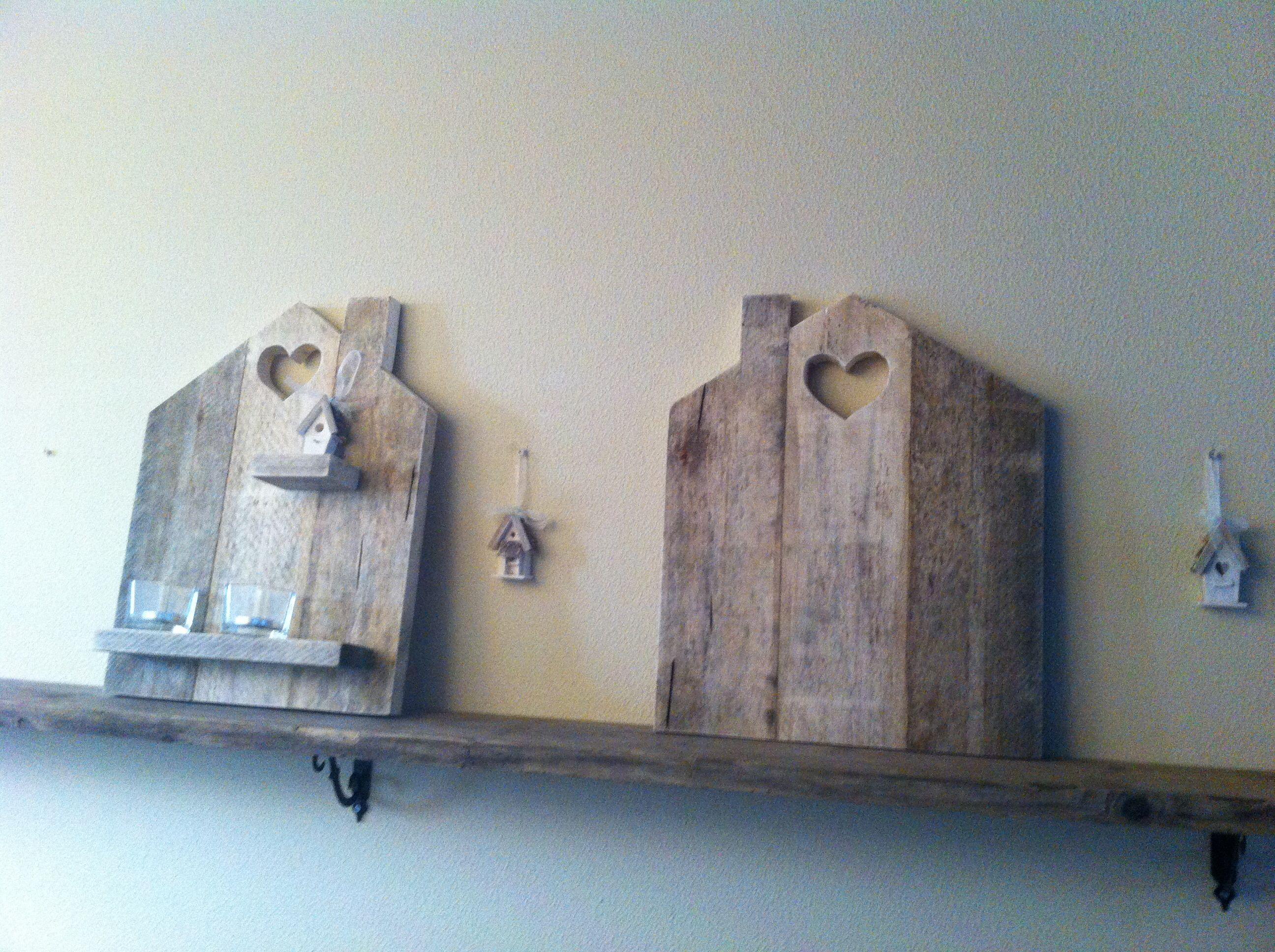 Knus houten huisje ter decoratie deco pallets easy pallets