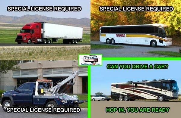 no special license required