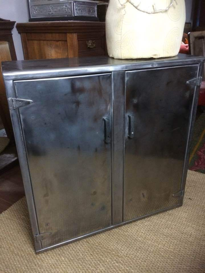 Industrial 1940s Vintage Steel Polished Metal Cabinet Storage Cupboard Ebay Cupboard Storage Storage Cabinets Metal Cabinet