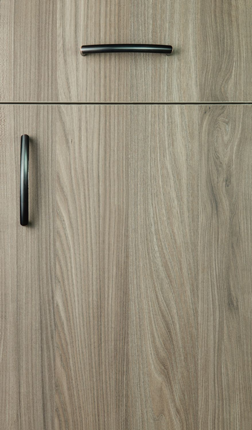 Milano textured melamine door style finished with the light brown