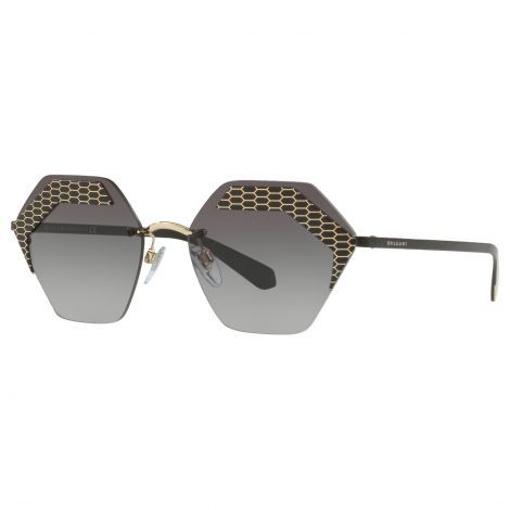 b05b2aee10b9 BVLGARI BV610357 Women s Hexagonal Sunglasses