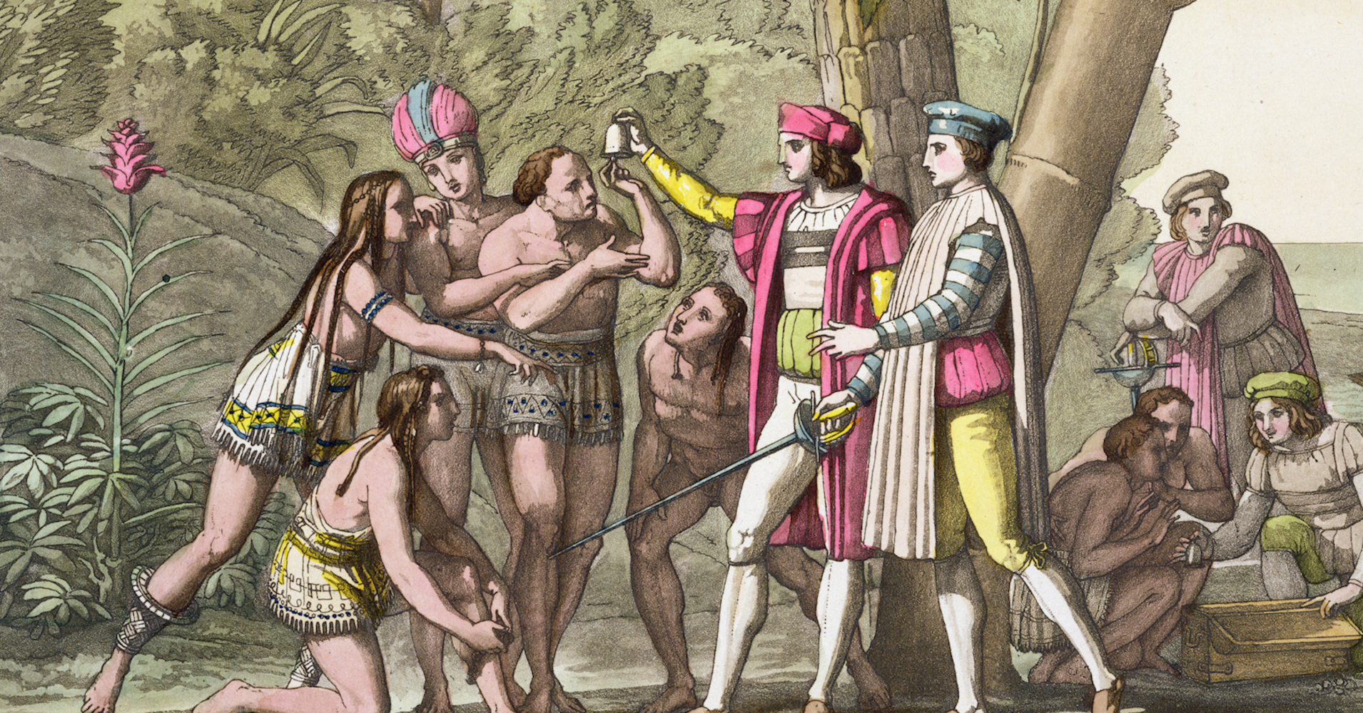 Christopher Columbus' SoCalled American 'Discovery