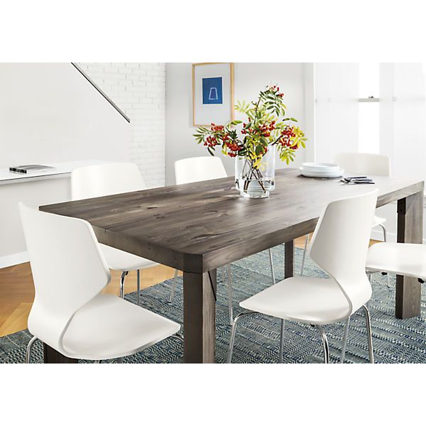 Contemporary Dining Room Chairs Captivating Pike Chair With Chrome Base  Modern Dining Room Furniture Room Review