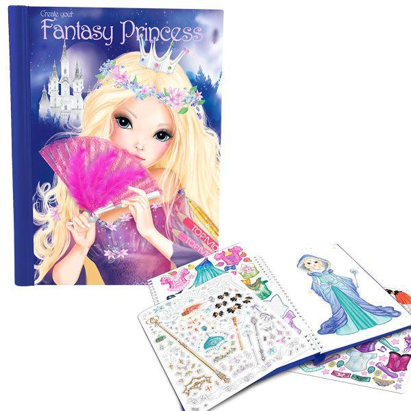 Livre Fantasy Princess Top Model Livre Fantasy Cahier De