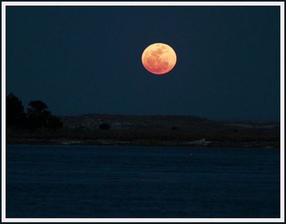 The Strong TideCredit: John BellmPhotographer John Bellm snapped this view of the full moon rising north of Carolina Beach, NC on the Intracoastal Waterway on March 19, 2011 during a supermoon event - while th emoon was at perigee, its closest to Earth in more than 18 years.