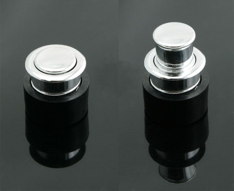 Details About Round Push Pop Out Concealed Drawer Pulls