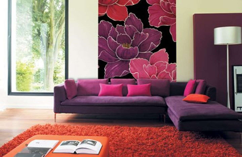 Purple sofa living room ideas - 1000 Images About Mi Eio On Eclectic Living Room Purple Living Room Photo
