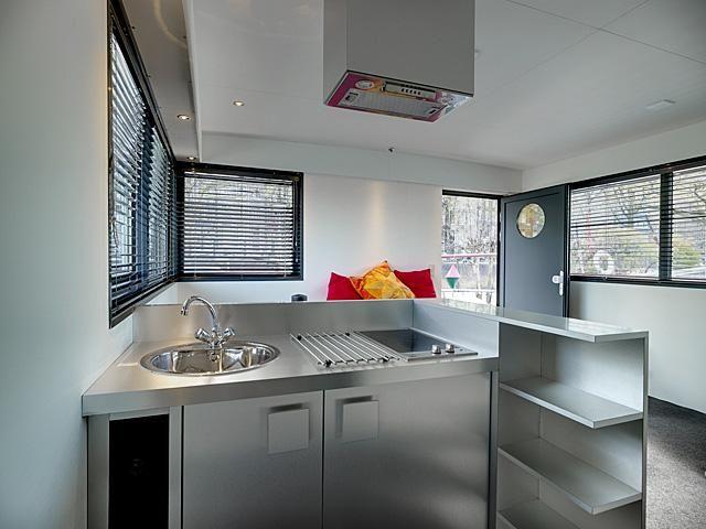 Chic & Modern Houseboat