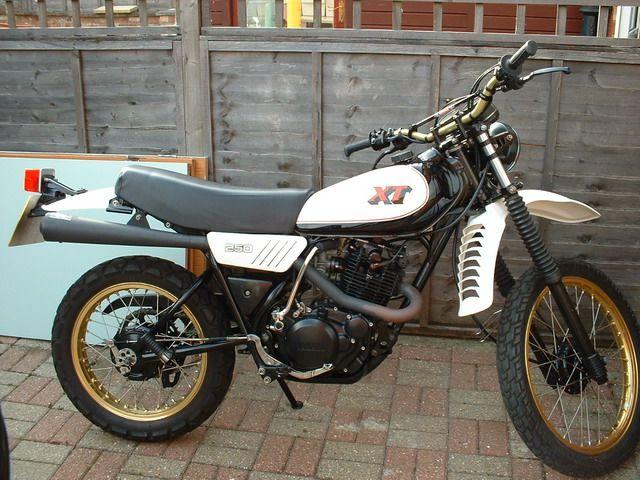 1982 Yamaha Xt 250 Image 8 Yamaha Enduro Motorcycle Classic Bikes