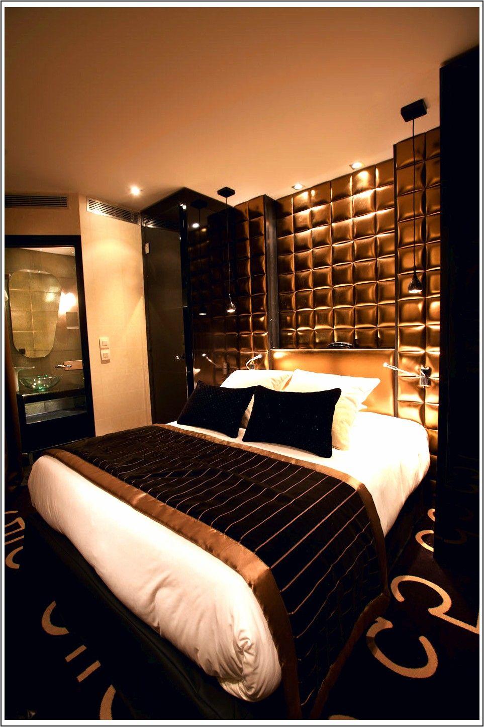 Camera Da Letto Bianca E Nera 15 lussuose camere da letto in nero e oro (con immagini