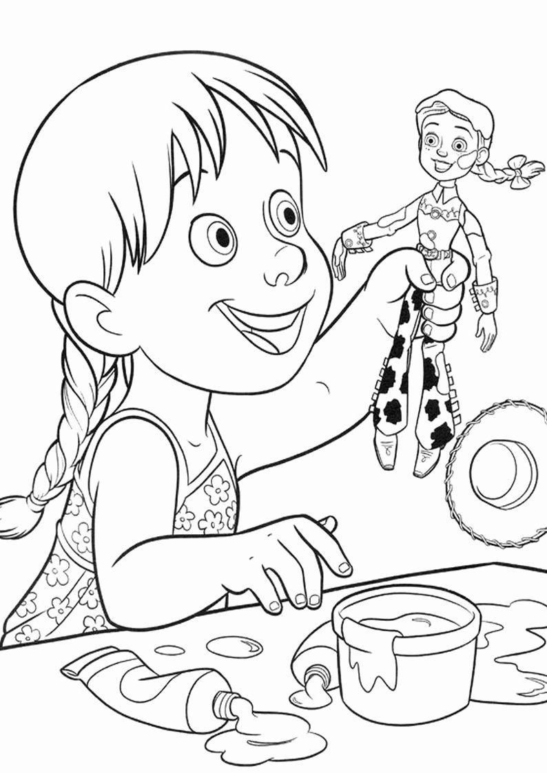 Disney Channel Jessie Coloring Pages Awesome Emma Jessie Disney Channel Coloring Pages Sketch Col In 2020 Disney Coloring Pages Toy Story Coloring Pages Coloring Pages