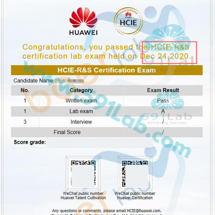 Hcie Rs Certification Lab Exam Is Pass In 2021 Exam Study Materials Candidate