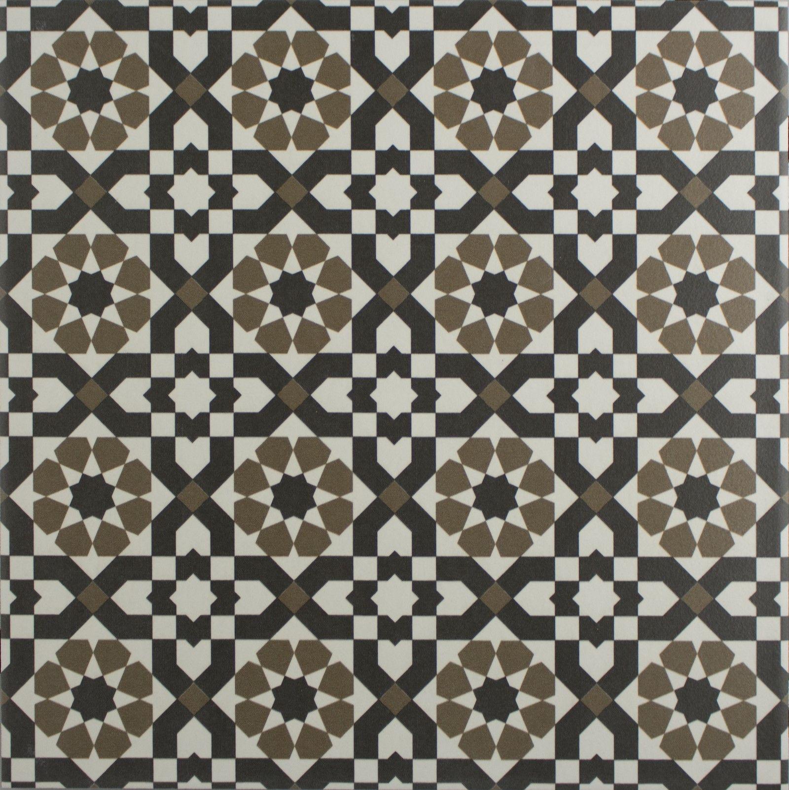 Decorative Tile Floors Marrakech Catarina Silver 16 Pattern Floor Tile  Marrakech
