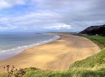 One Of The Best Beaches On Gower Peninsula Travel Dancamacho