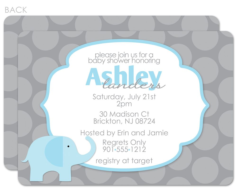 Elephant Baby Shower Theme   Google Search