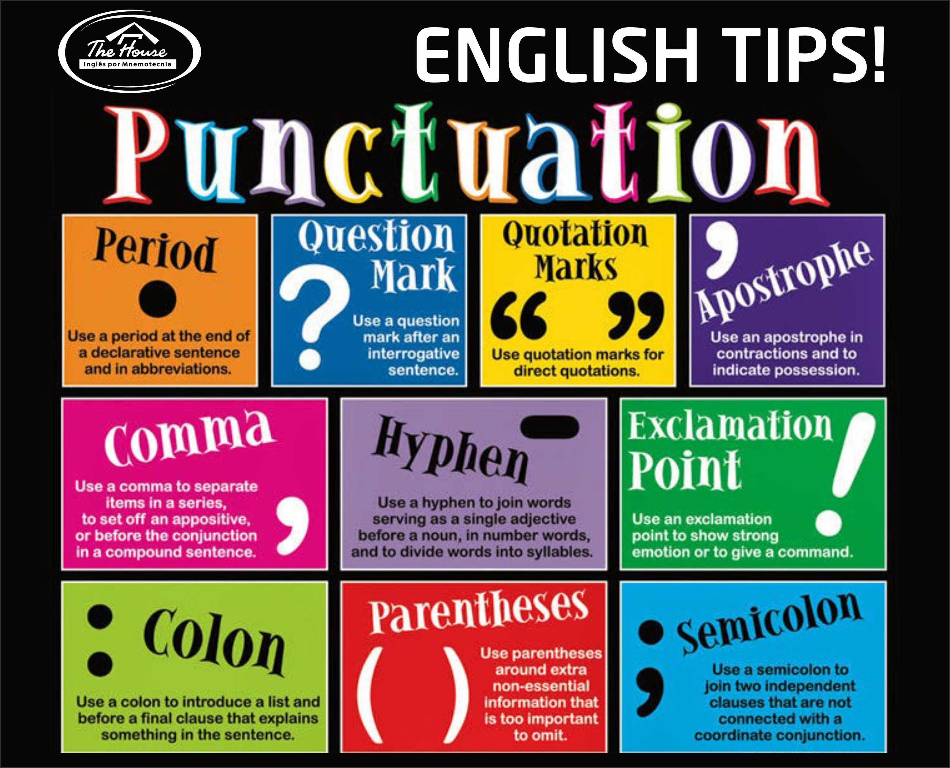 writing and punctuation When writing a paper, never underestimate the importance of correct grammar and punctuation these resources will help you get it right every time.