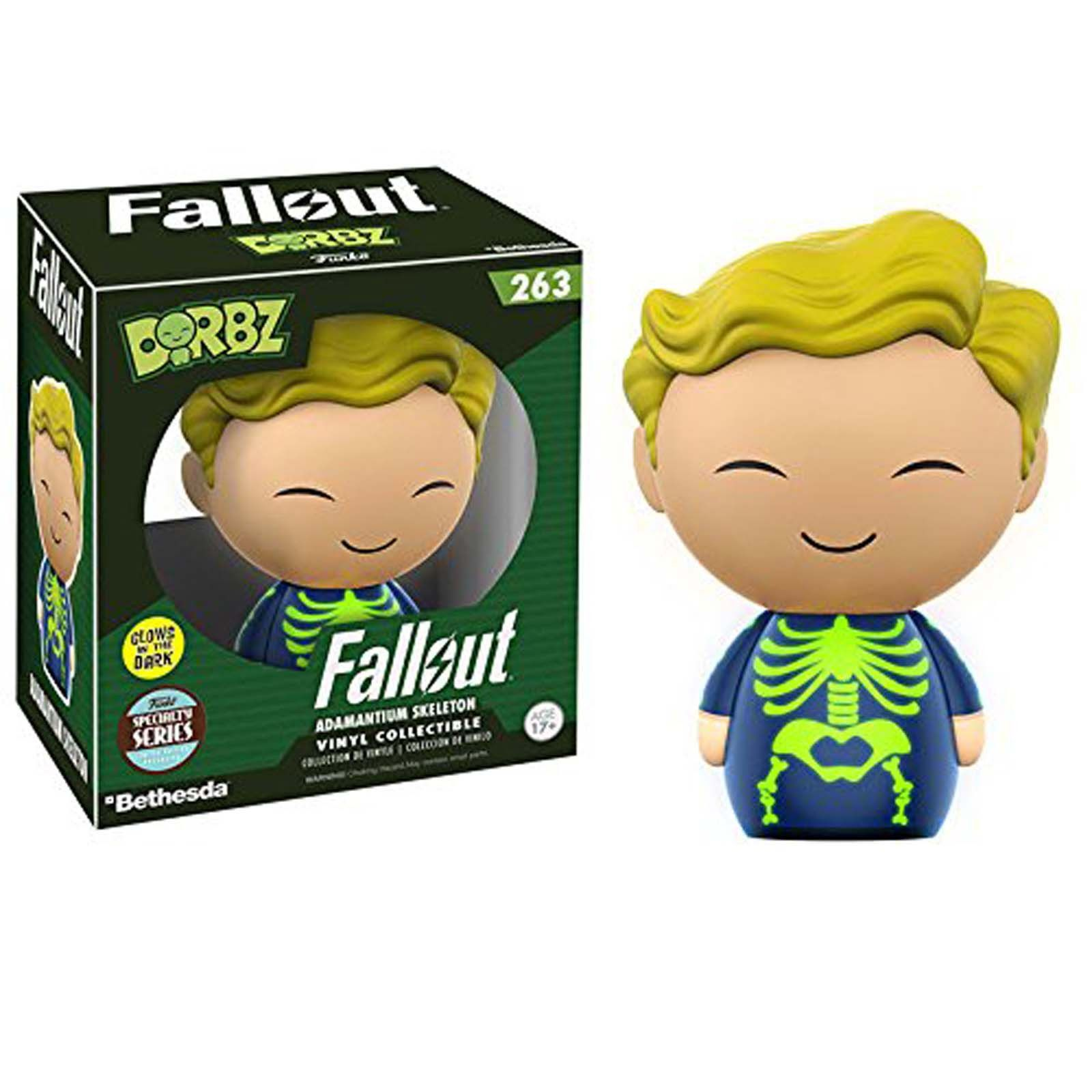 Funko Fallout Specialty Series Dorbz Adamantium Skeleton Vinyl Figure IN STOCK