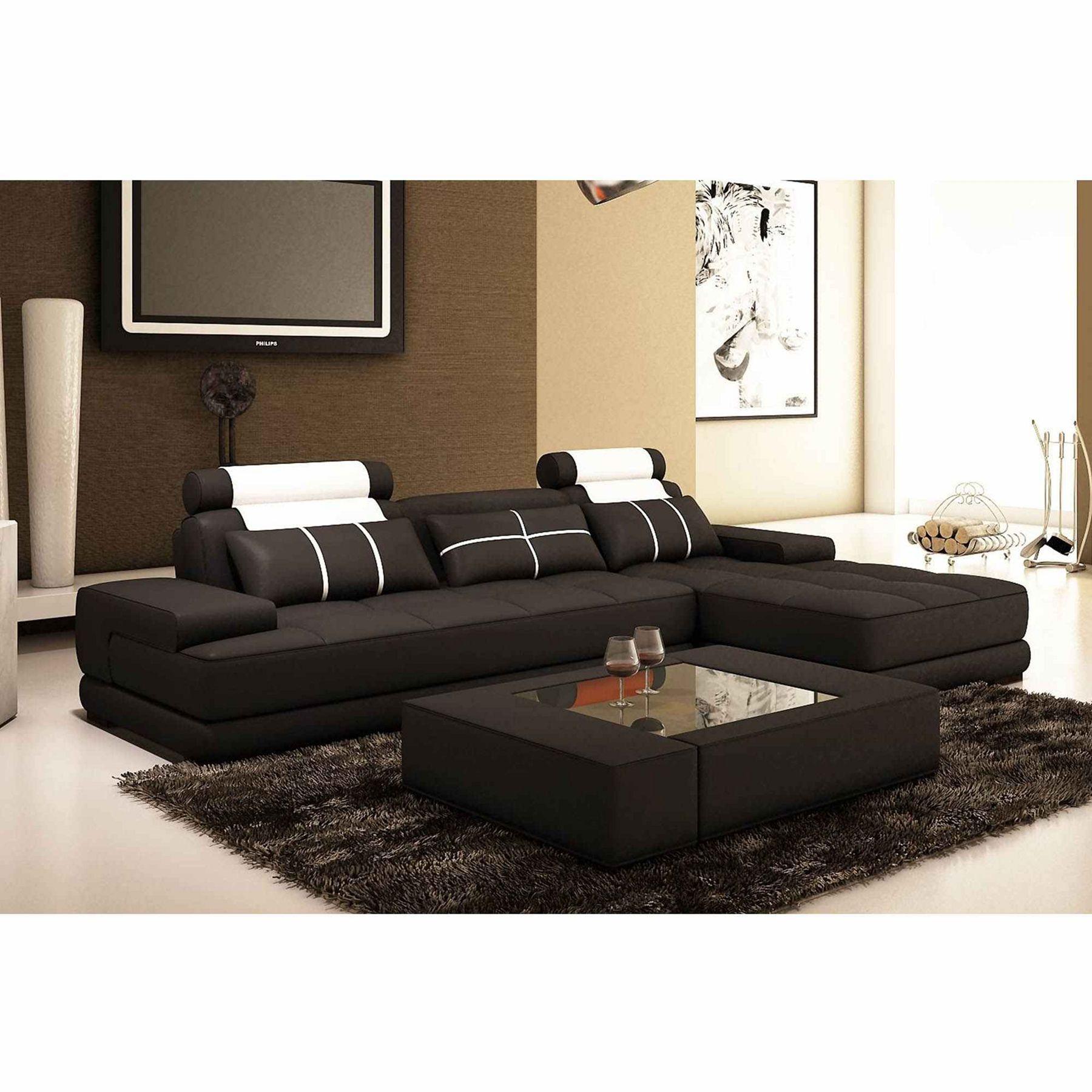 12 L Shaped Sofa Furniture Ideas For Awesome Modern Living Rooms Black Modern Sofa Living Room Modern Sofa Furniture