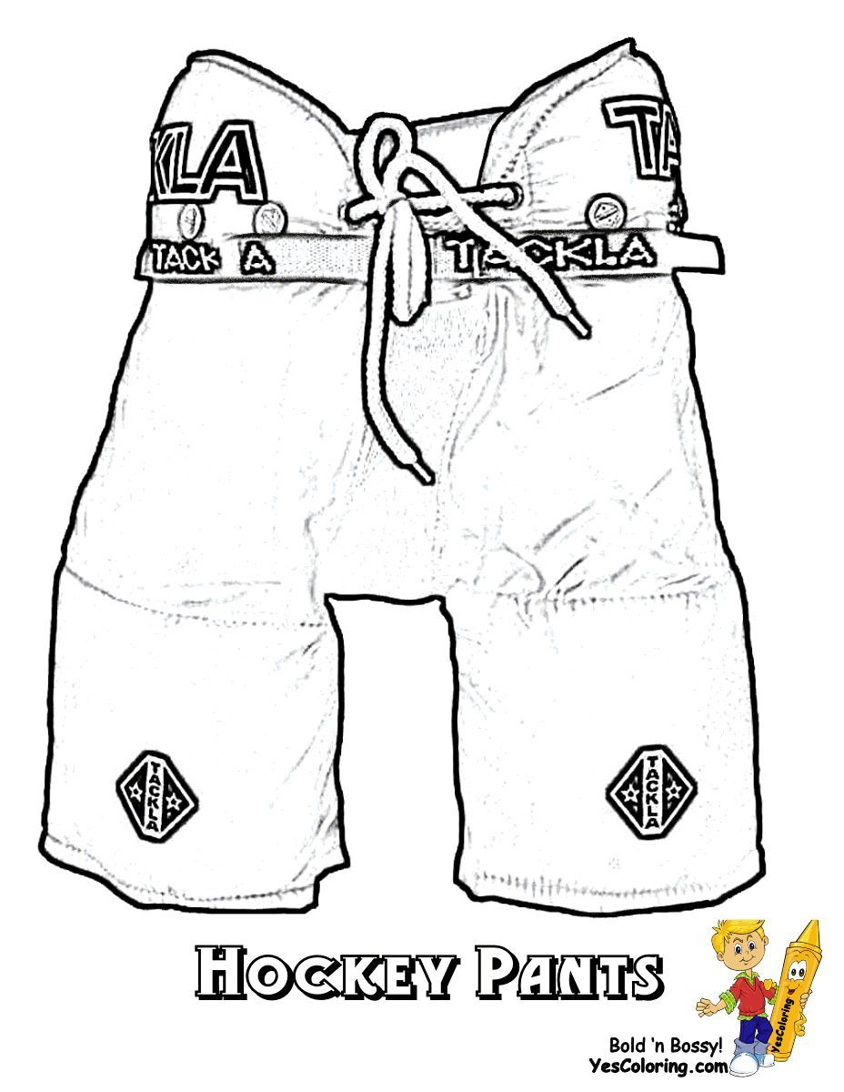 Print Out This Unusual But Cool Hockey Printable Ice Hockey Pants