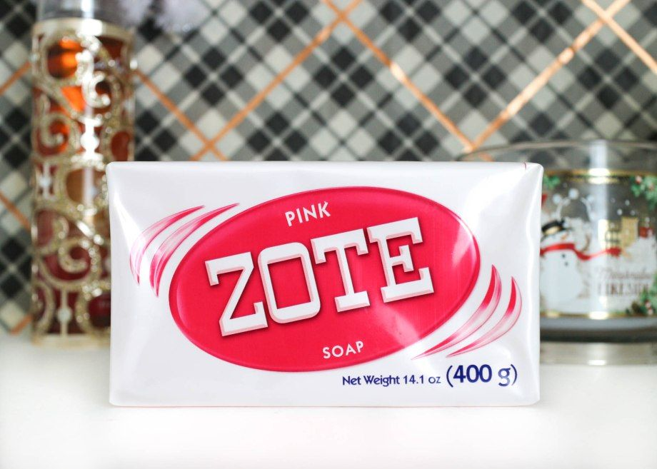Zote Laundry Pink Soap Bars Stain Remover Detergent The