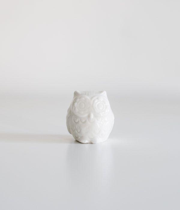 Белая сова, фарфоровая статуэтка | Белые совы, Винтаж ...