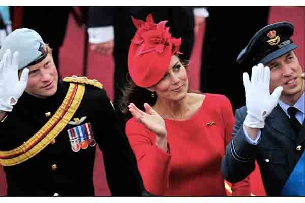Kate in red Jubilee