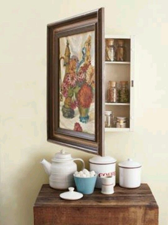 Upcycle An Old Medicine Cabinet Into A Decorative Spice
