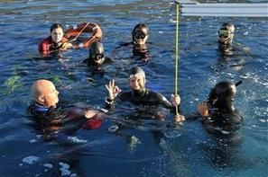 OTHERS - Turkish diver Derya Can breaks second free-diving record in three days