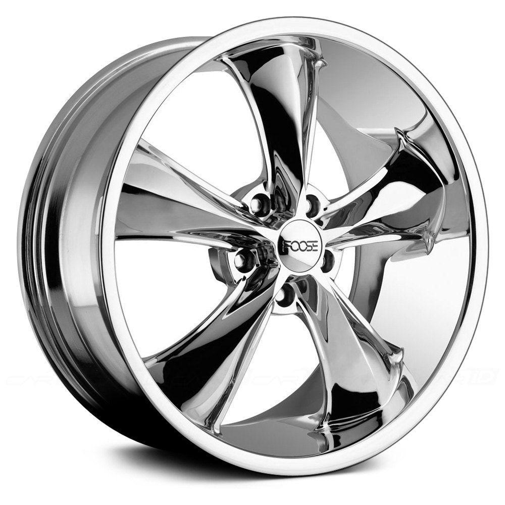 Foose F105 Legend Chrome Foose Wheel Rims Chrome Wheels