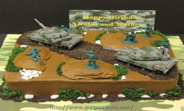 Army Birthday Cakes For Boys Birthday Cake Pinterest Army