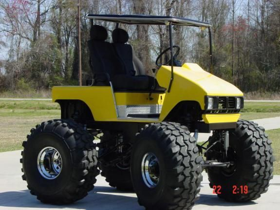 Monster Golf Cart Awesome Golf Carts Lifted Golf Carts
