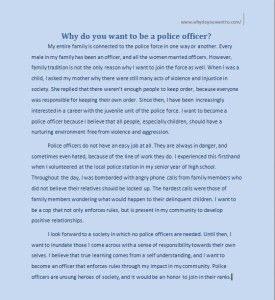 why do you want to be a police officer httpwww - Why Do You Want To Be A Police Officer