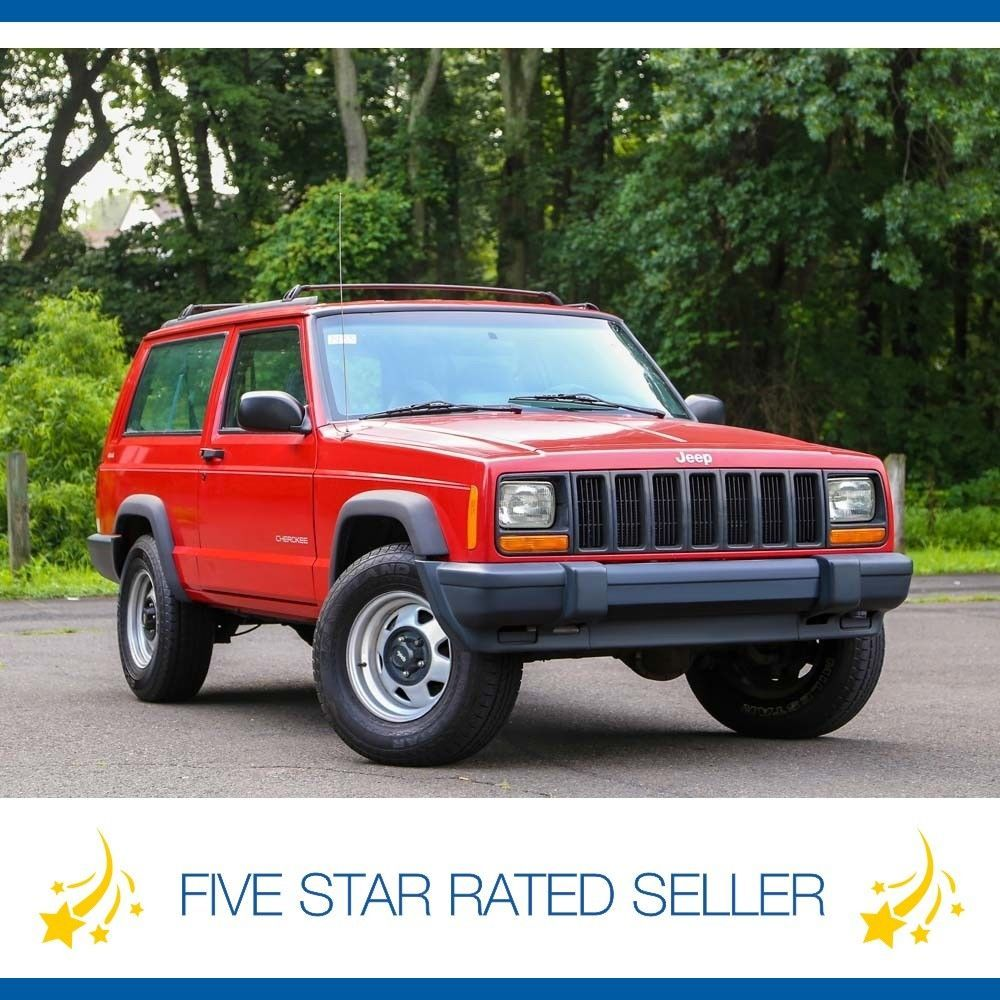 eBay: Jeep Cherokee 2DR 4.0L 1 Owner Manual 5sp 4x4 Low Miles Rare Carfax